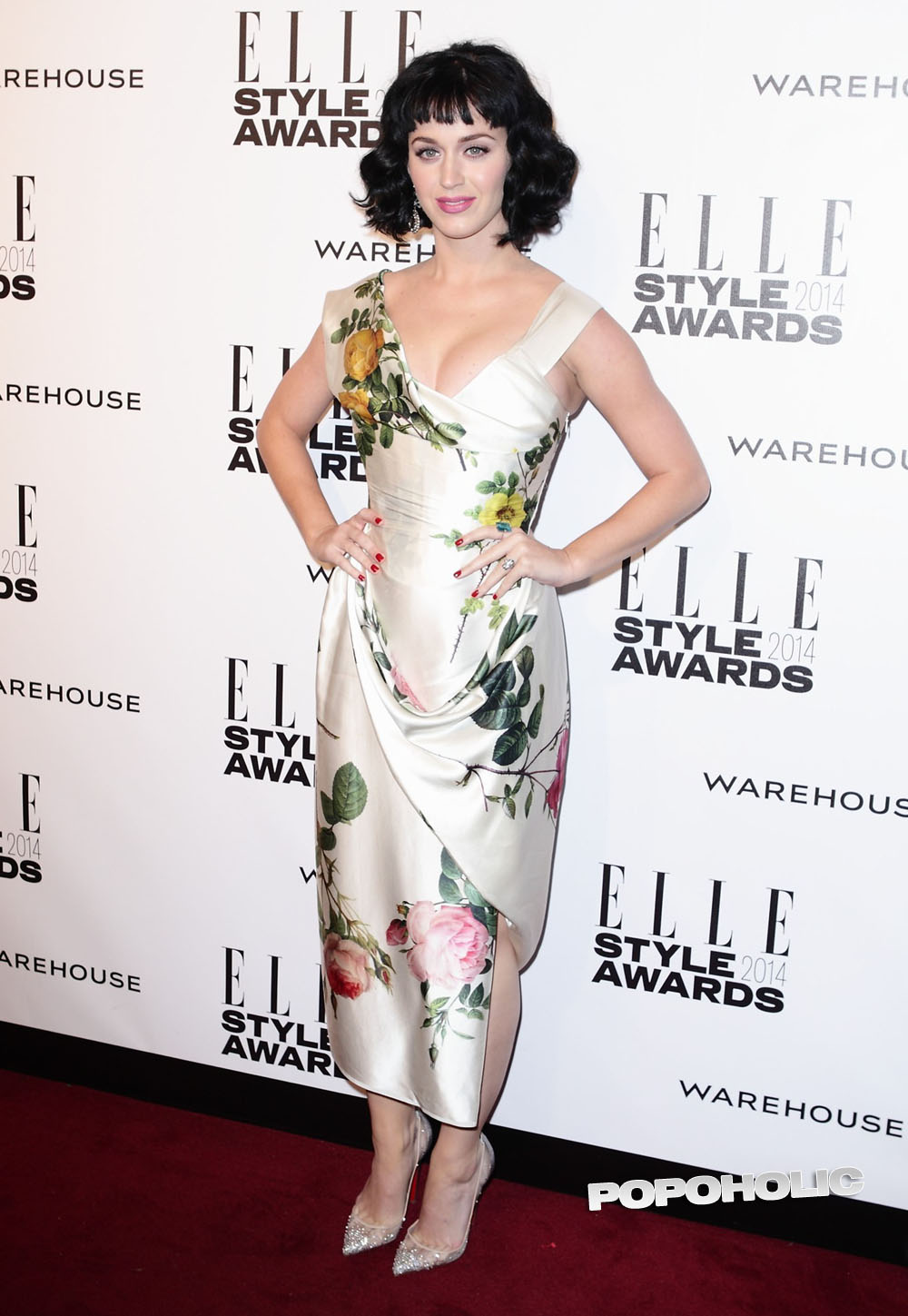 Featured image for Katy Perry at the Elle Style Awards hot
