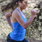 Lea Michele Makes Us Sweat!