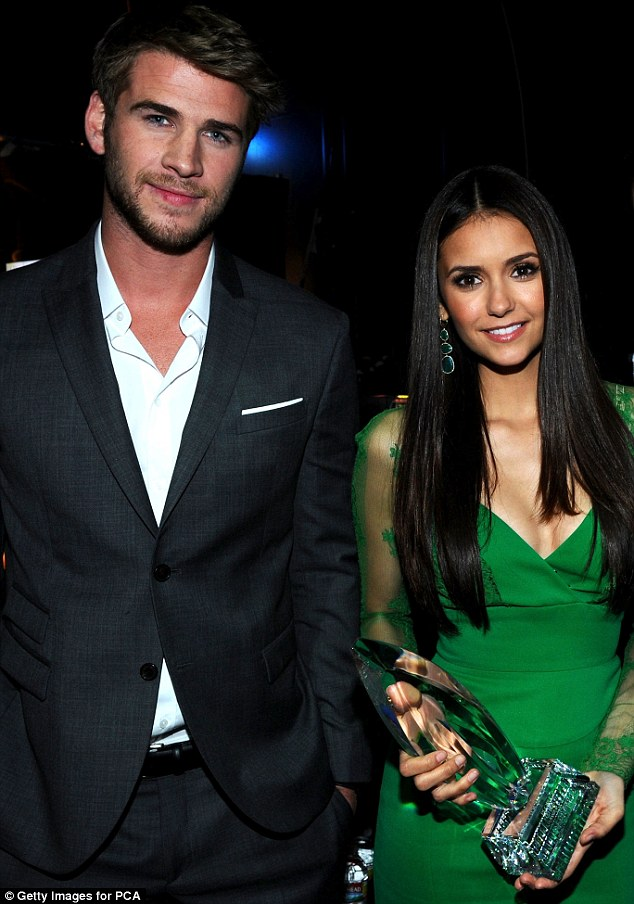 Featured image for Miley Who?: Liam Hemsworth 'Spotted Kissing Nina Dobrev'