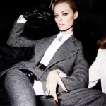 Margot Robbie Is All Suited Up For Violet Grey
