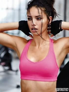 Adriana Lima Victoria's Secret sexy workout