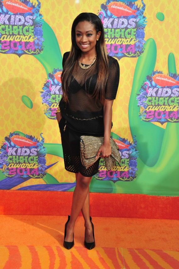 Kayla Brianna 2014 Nickelodeon Kids' Choice Awards