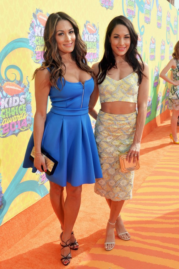 Nicole Garcia-Colace and Brianna Garcia-Colace 2014 Nickelodeon Kids' Choice Awards