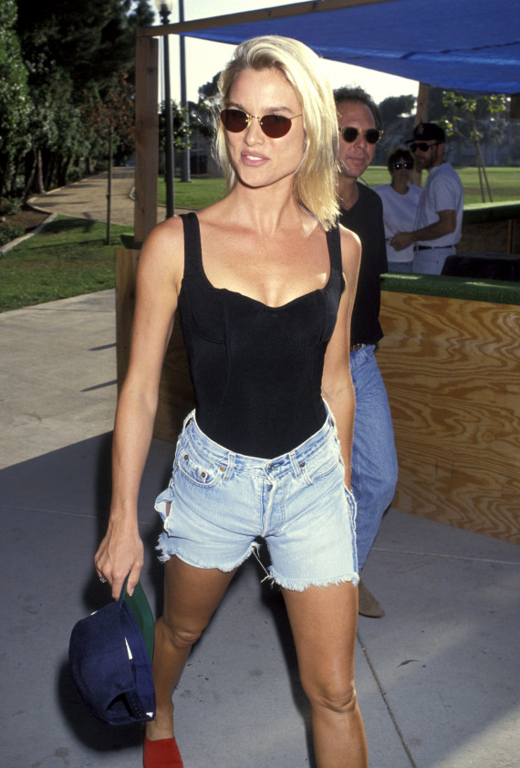 Nicolette Sheridan in the '90s