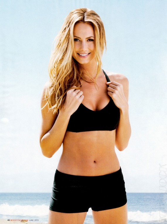 Stacy Keibler in Men's Fitness