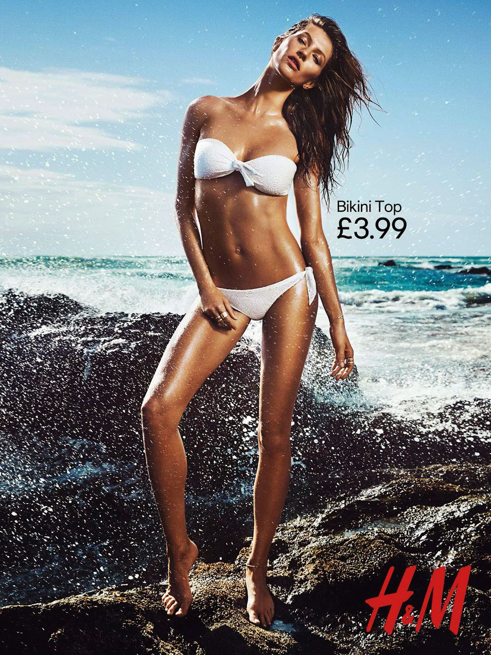 Gisele Bundchen Is Back And Modeling Sexy Swimwear!