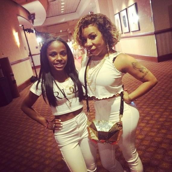 Tameka and Floyd Mayweather's daughter