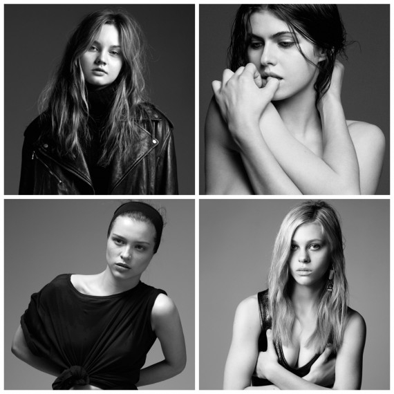 Interview Magazine's Young Guns of Hollywood - The Girls
