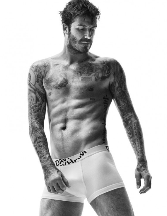 David Beckham H&M new campaign
