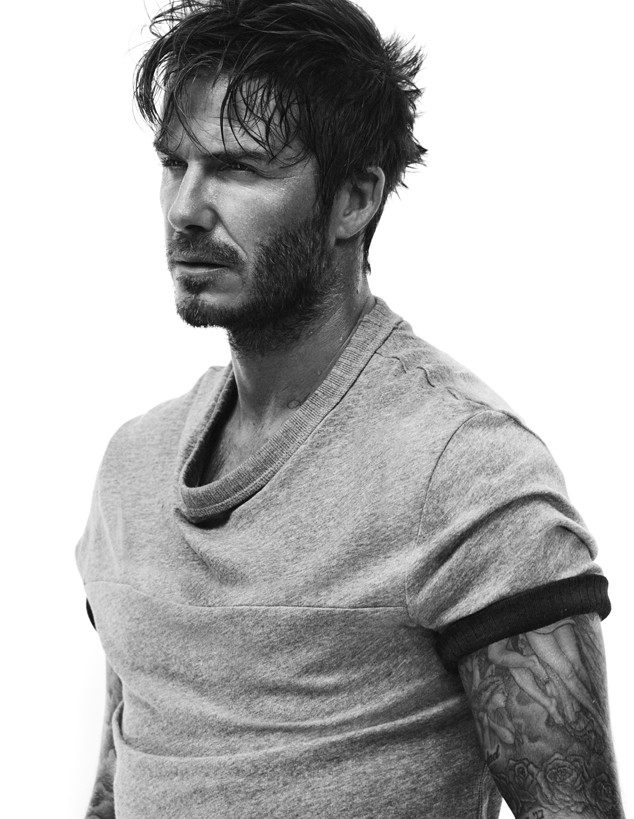 Featured image for David Beckham Is Hot, Hot, Hot in H&M's New Ads!