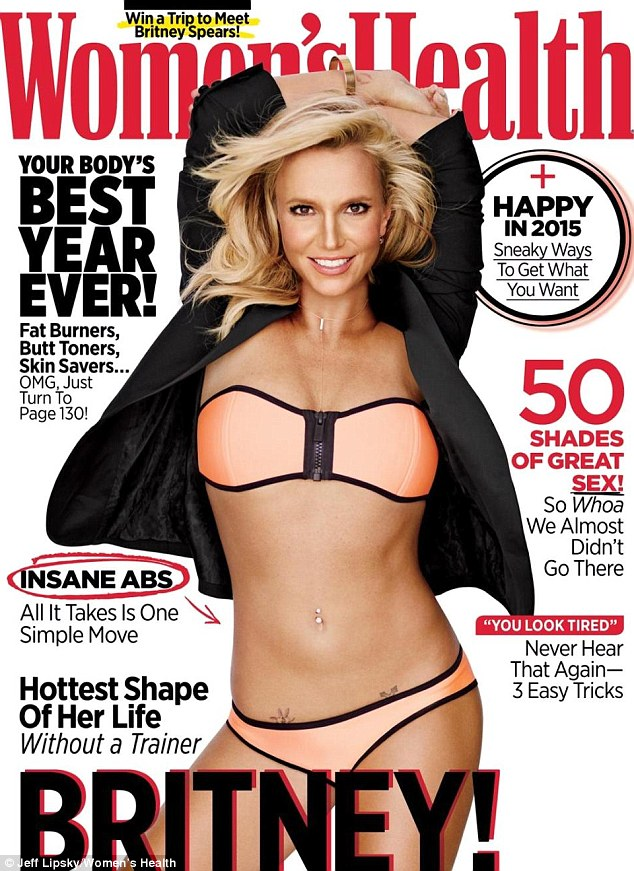 "Today's Hottest Woman: Britney Spears In ""Women's Health!"""