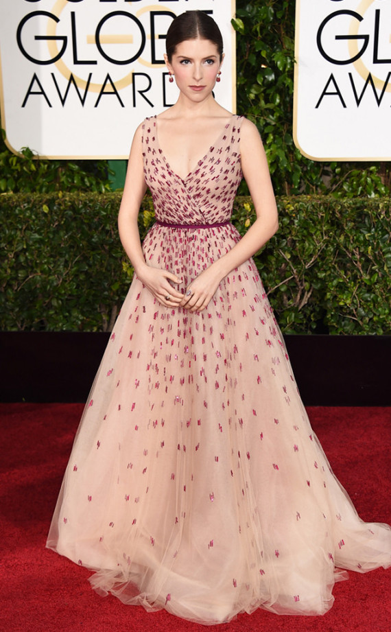 Anna Kendrick 2015 Golden Globes