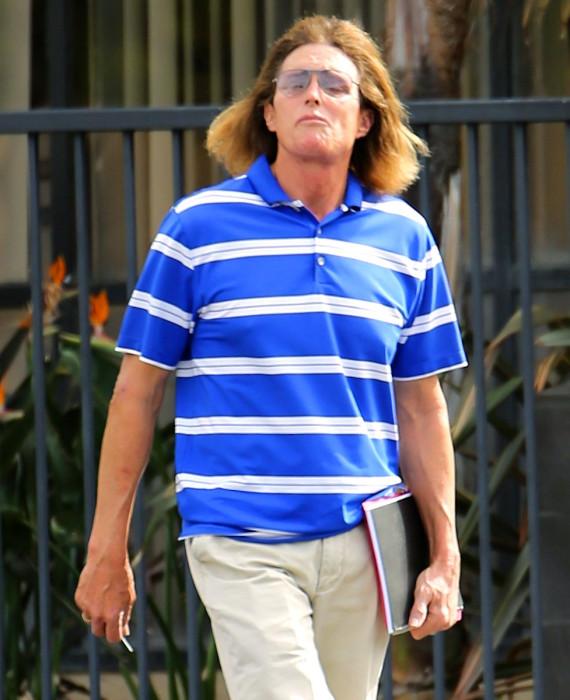 Bruce Jenner ombre hair