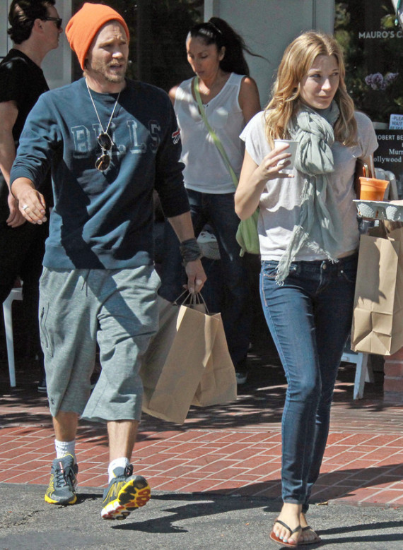 Chad Michael Murray and Sarah Roemer