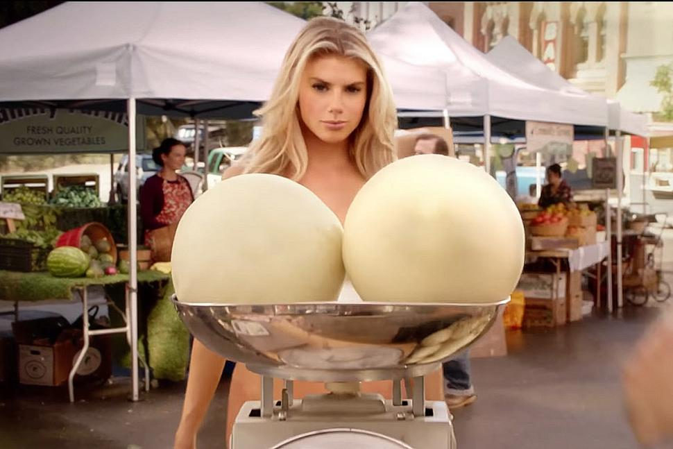 Today's Hottest Woman: Charlotte McKinney For Carl's Jr ...