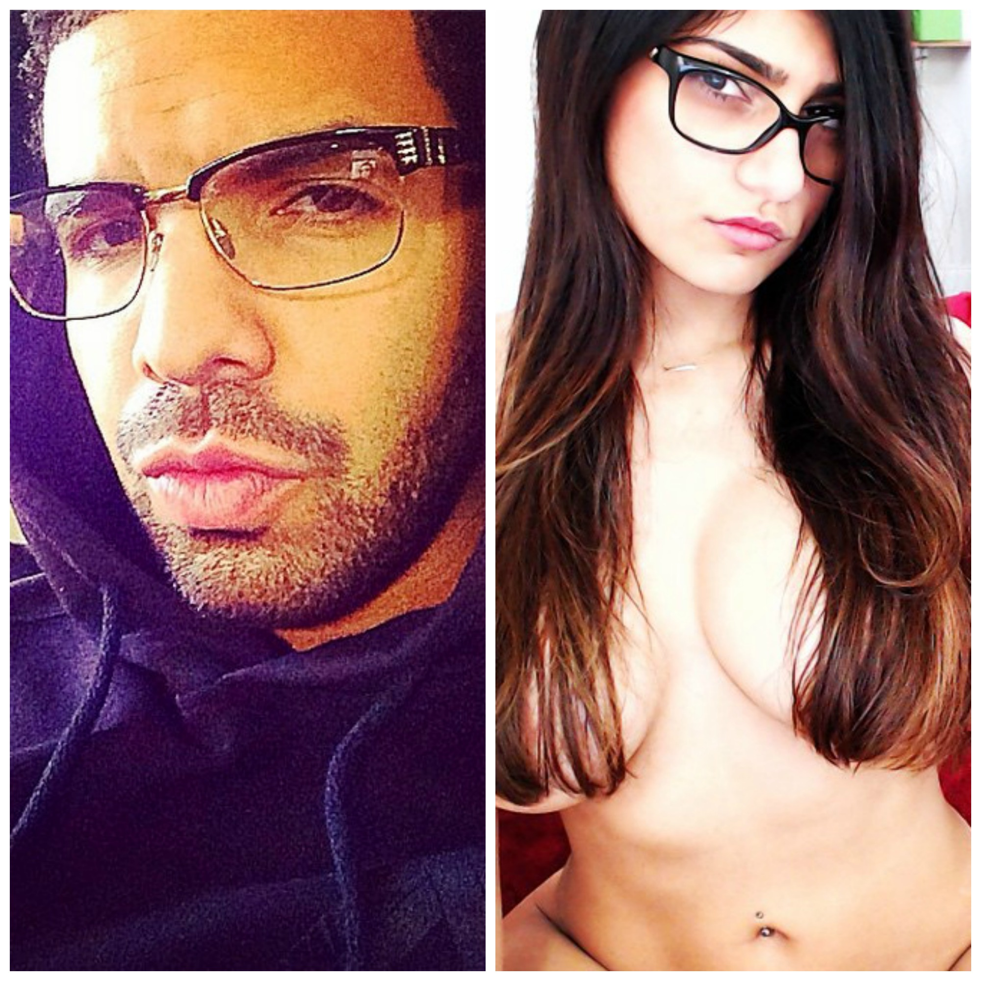 Drake and Mia Khalifa
