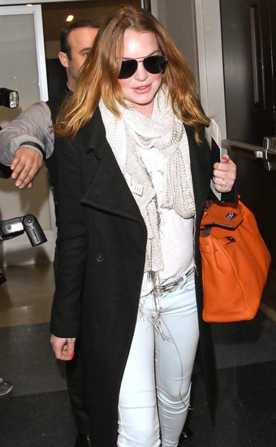 Lindsay Lohan health scare