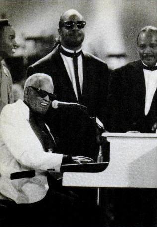 Ray Charles, Stevie Wonder