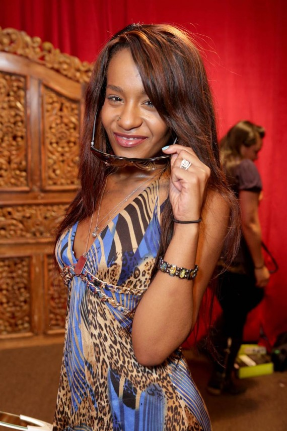 Bobbi Kristina at the 56th GRAMMY Awards