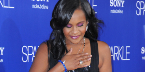 Bobbi Kristina Brown Sparkle premiere