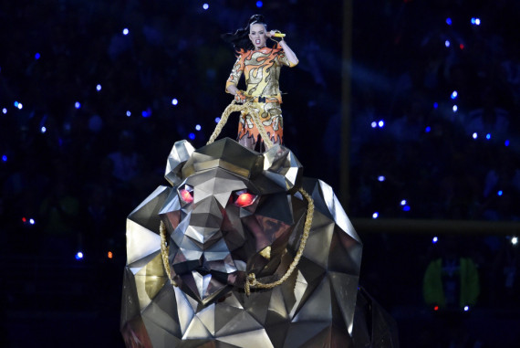 Katy Perry Super Bowl Halftime Show 2015