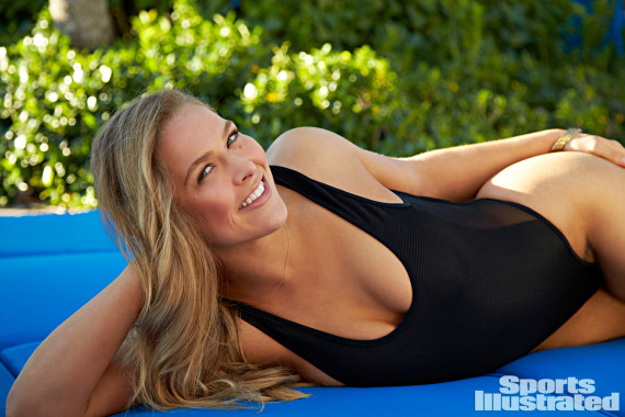 Ronda Rousey in Sports Illustrated