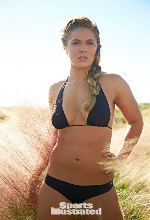 Ronda Rousey Is A Total Babe On 'Sports Illustrated!'