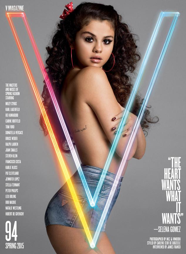 Selena Gomez for V Magazine Spring 2015
