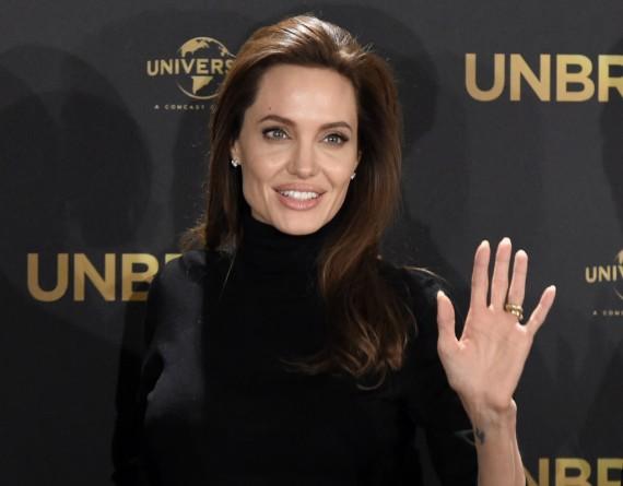 Angelina Jolie Unbroken premiere