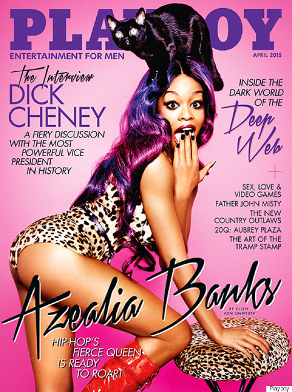 Azealia Banks for Playboy April 2015