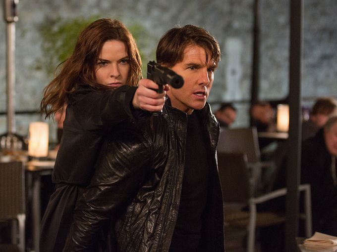 "SNEAK PEEK: The Trailer For ""Mission: Impossible Rogue Nation!"""