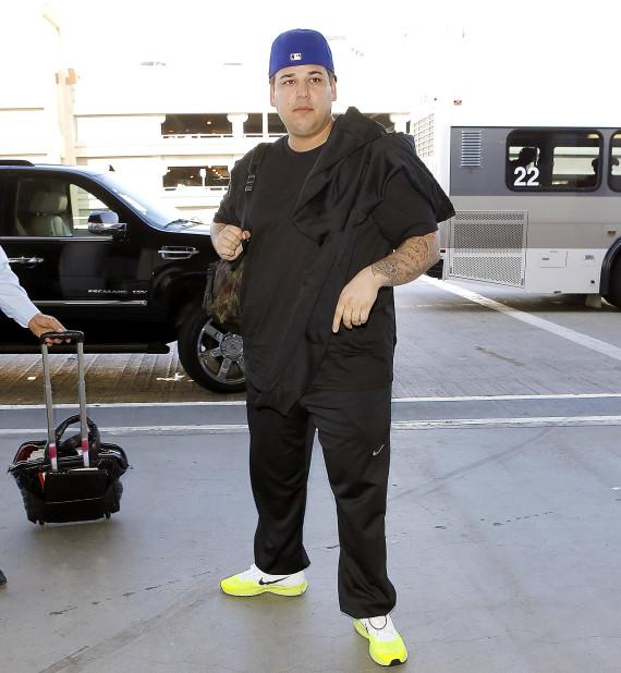 Rob Kardashian Fat Tmz Rob Kardashian Compare...