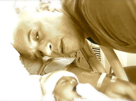 Vin Diesel and daughter Pauline