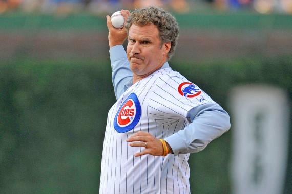 Will Ferrell baseball game