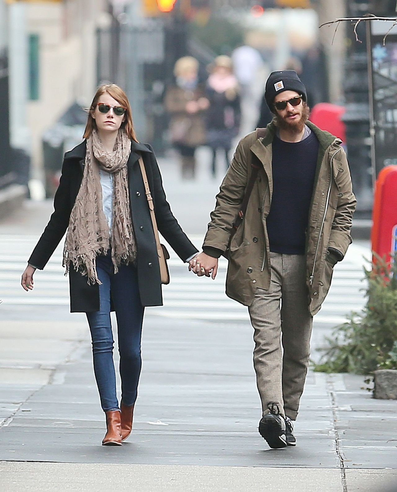 "Emma Stone & Andrew Garfield Are On A ""Break"""