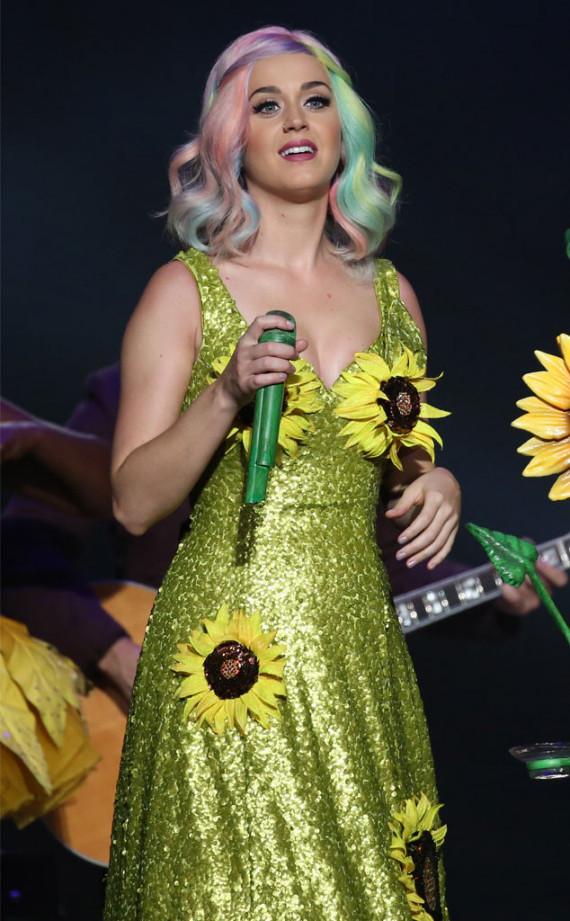 Katy Perry flower dress