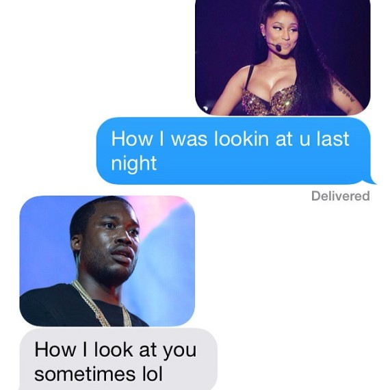 Nicki Minaj and Meek Mill convo