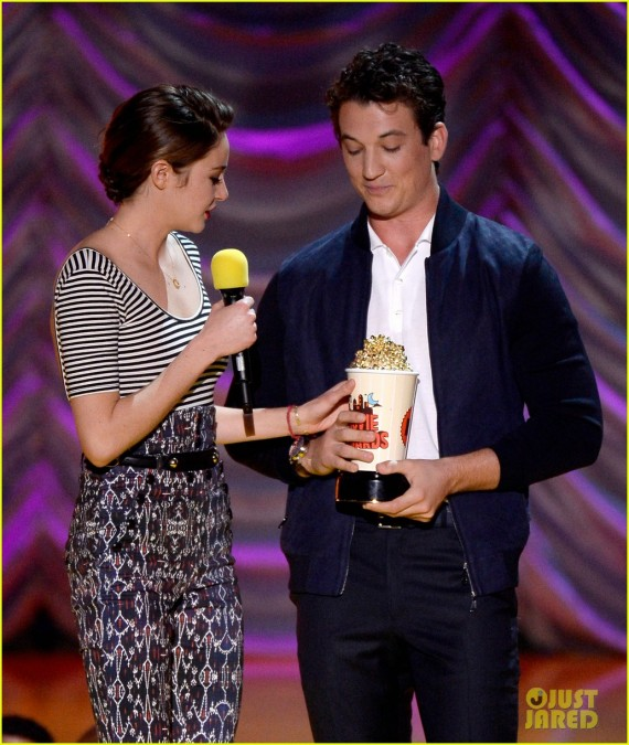 The 2015 MTV Movie Awards - Shailene Woodley