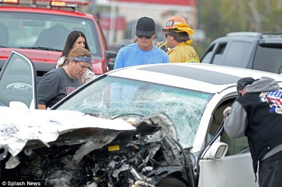 Bruce Jenner in car crash