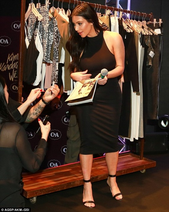 Kim Kardashian in Brazil