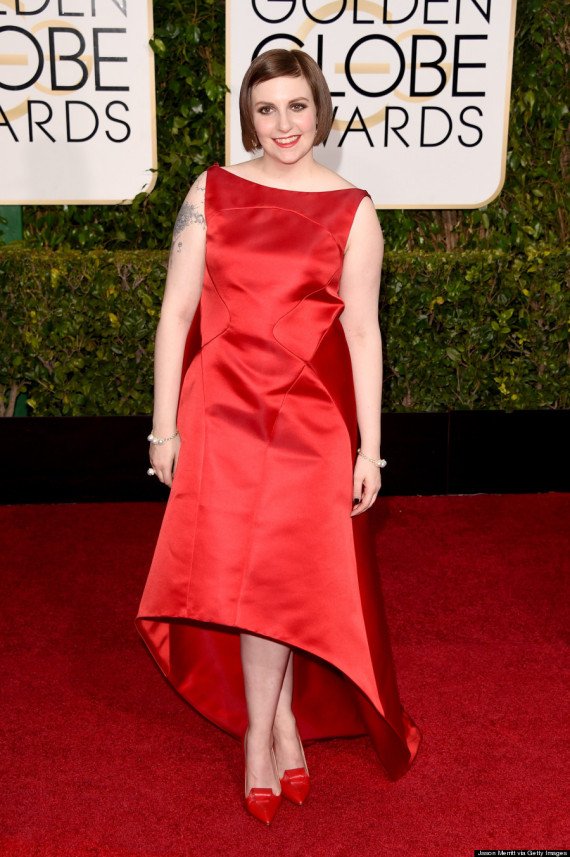 72nd Annual Golden Globe Awards - Lena Dunham