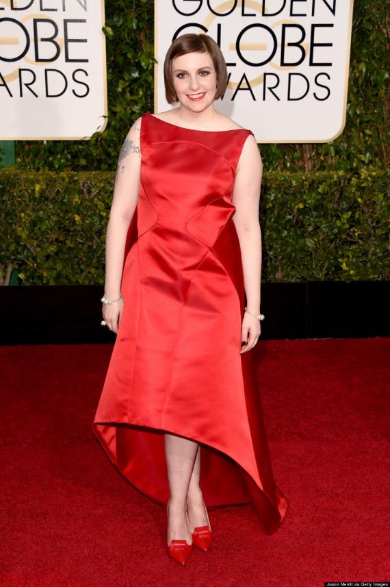 72nd Annual Golden Globe Awards - Lena Dunham