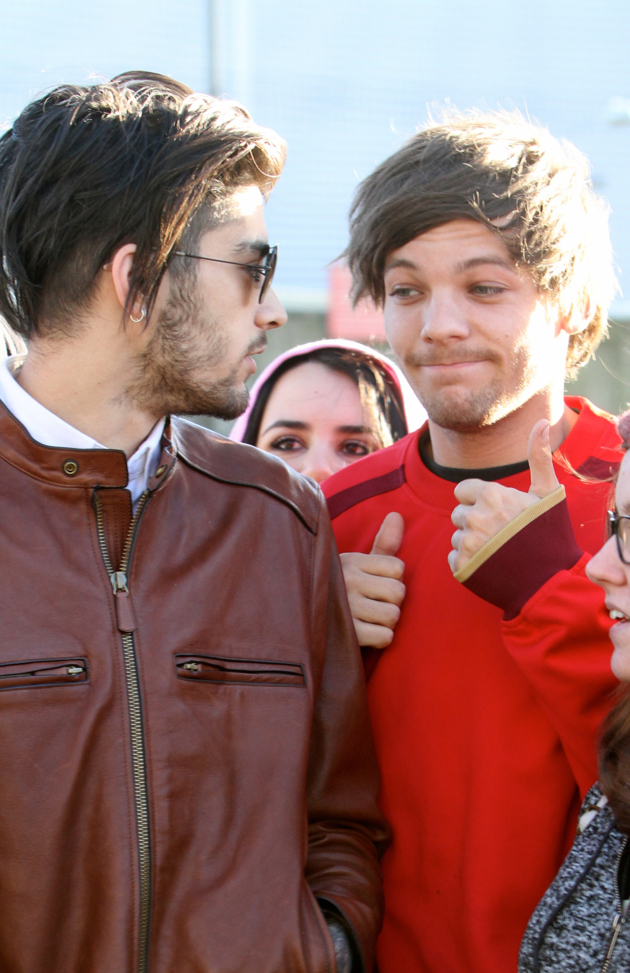 "Zayn Malik ""Defended"" Himself From Louis Tomlinson!"
