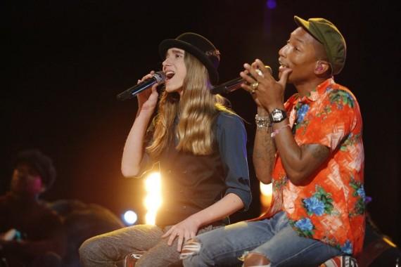 Sawyer Fredericks and Pharrell Williams