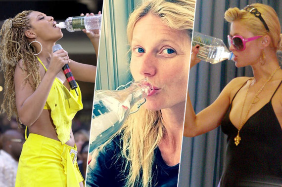 celebrities-drinking-water