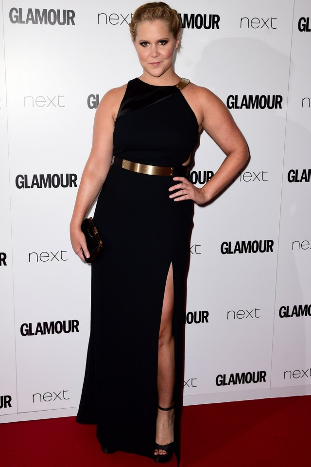 Amy Schumer Gives A Real, Raunchy Speech At The GLAMOUR Awards! [WATCH]