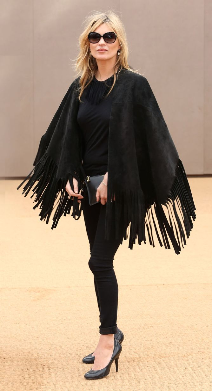 Kate Moss Burberry