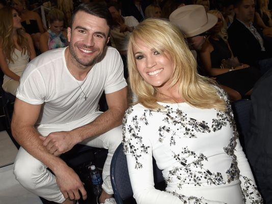 Sam Hunt and Carrie Underwood CMT 2015