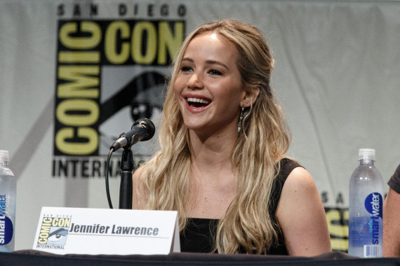 Jennifer Lawrence attend San Diego Comic-Con