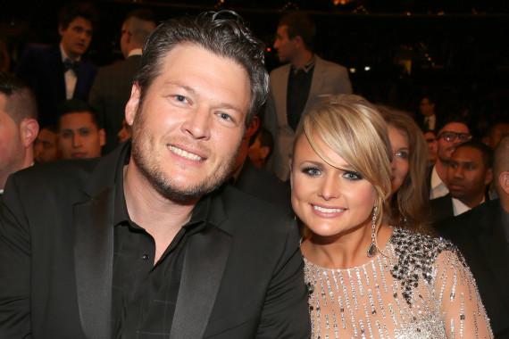 The 55th Annual GRAMMY Awards - Blake Shelton and Miranda Lambert